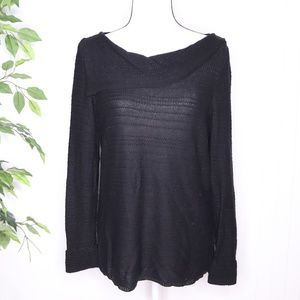Dana Buchman Cowl Neck Sweater Size M
